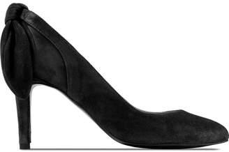 Carven Noir Escarpin Talon Noeud Heels