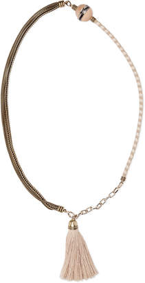 Lanvin Natu Long Tassel Necklace