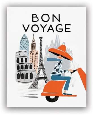 """Rifle Paper Co. Bon Voyage Art Print - Bicycle Paris 8"""" x 10"""""""