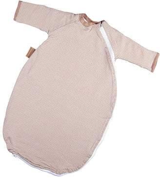 Hoppediz baby sleeping bag with a practical cover cuff