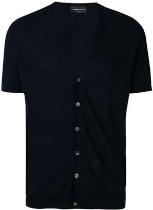 Roberto Collina short sleeved cardigan