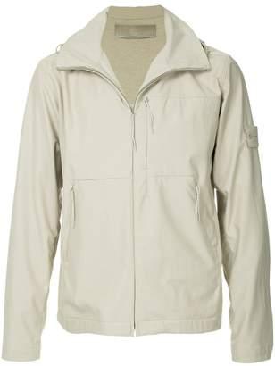 Stone Island hooded zipped jacket