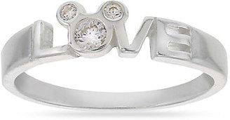 Mickey Mouse Love Ring - Disney Designer Jewelry Collection $39.95 thestylecure.com