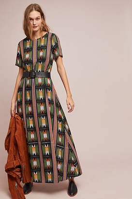 Bel Kazan Geometric Maxi Dress
