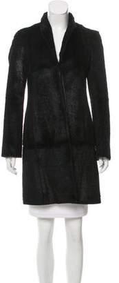 HUGO BOSS Boss by Fur Knee-Length Coat