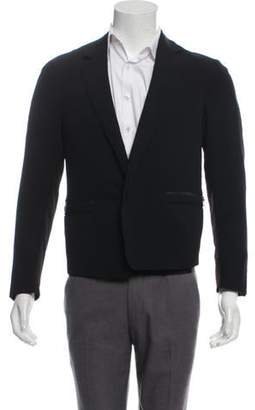 Lanvin Notch-Lapel Snap-Up Blazer black Notch-Lapel Snap-Up Blazer