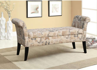 Asstd National Brand Baxton Studio Avignon Upholstered Storage Ottoman Bench