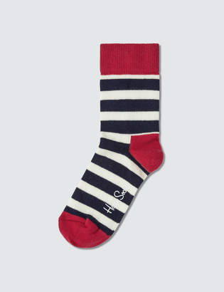 Happy Socks Kids Stripe Sock Gift Set (Pack of 2)