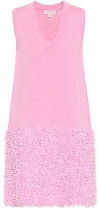 Cotton-blend knit dress Delpozo