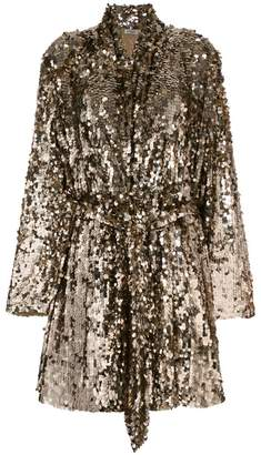 ATTICO sequins embellished coat