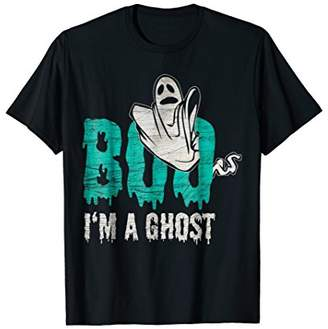 Funny Cool Distressed Tee Shirt Gift - Boo I'm A Ghost