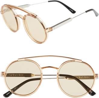 Spitfire Stay Rad 53mm Round Sunglasses