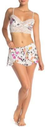 Josie Bralette & Shorts Pajama 2-Piece Set