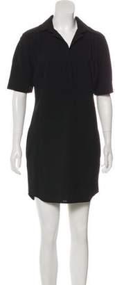 Derek Lam Mini Short Sleeve Shirtdress