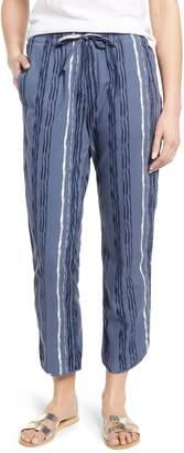Caslon Print Drawstring Pants