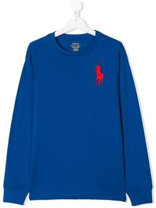 Ralph Lauren TEEN Big Pony embroidered sweatshirt