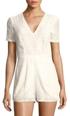 Ramy Brook Annanee Lace Romper