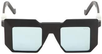 Va Va 3d Mirrored Lenses Squared Acetate