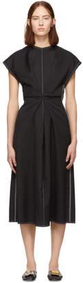 Loewe Black Draped Dress