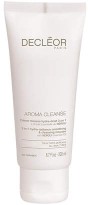 Decleor Aroma Cleanse 3 in 1 Hydra-Radiance Smoothing and Cleansing Mousse (200ml)