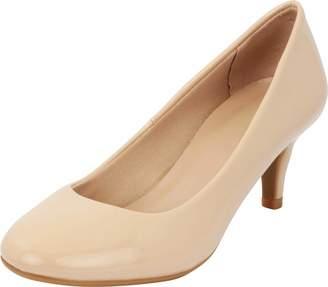 98f0adf609 Cambridge Silversmiths Select Women's Classic Round Toe Kitten Heel Dress  Pump