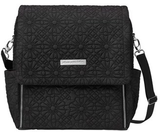 Infant Petunia Pickle Bottom 'Embossed Boxy' Backpack Diaper Bag - Black $189 thestylecure.com