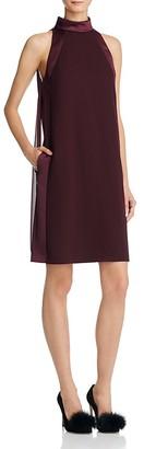 REISS Kaelin High-Neck Dress $340 thestylecure.com