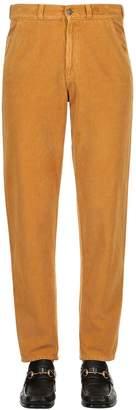 Gucci Washed Cotton Corduroy Pants