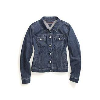 32c6ff5f Tommy Hilfiger Women's Adaptive Jean Jacket with Magnetic Buttons