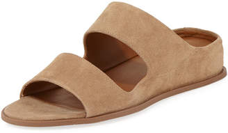 Aquatalia Abbey Two-Band Slide Sandal
