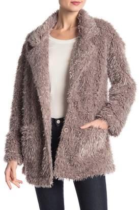 Bobeau B Collection by Salma Faux Fur Jacket