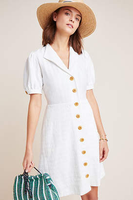 Maeve Collared Button-Front Dress