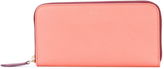 Paul Smith large zip around wallet $435 thestylecure.com