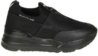 Ruco Line Rucoline essentiel Sneakers In Net And Black Color
