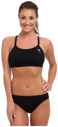 TYR Durafast Elitetm Solids Diamondfit Workout Bikini Women's Swimwear Sets