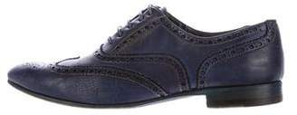 Paul Smith Leather Wingtip Brogues