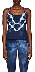 Electric & Rose Women's Tie-Dyed Stretch-Cotton Cami - Blue