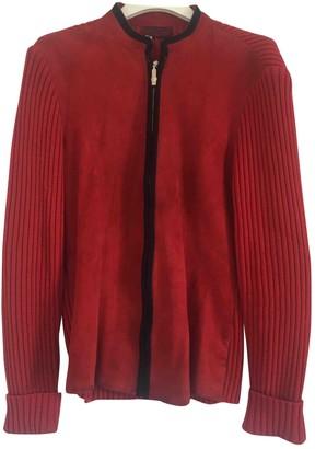 Versus Red Suede Knitwear for Women Vintage