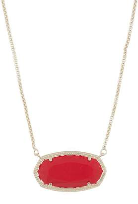 Kendra Scott Delaney CZ & Stone Pendant Necklace