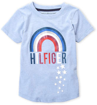 Tommy Hilfiger Girls 7-16) Rainbow Tee