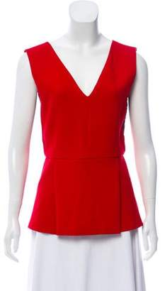 Gerard Darel Lace-Accented Sleeveless Top w/ Tags