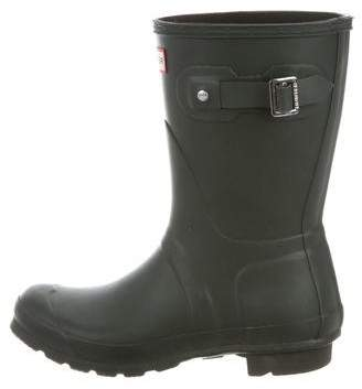 Hunter Round-Toe Rain Boots