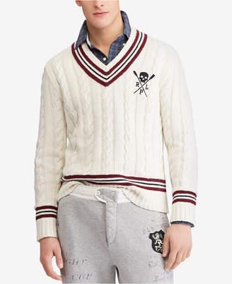 Polo Ralph Lauren Men's Regular-Fit Cricket Sweater