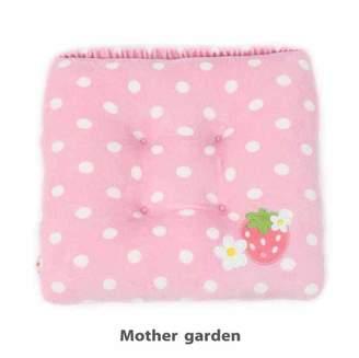 Mother garden MG 座布団 ざぶとん 野苺水玉柄(C)FDB