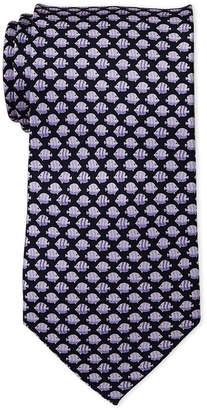 Pierre Cardin Fish Print Silk Tie