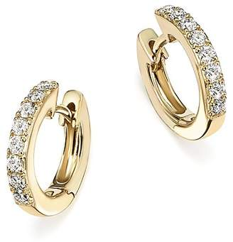 Bloomingdale's Diamond Mini Hoop Earrings in 14K Yellow Gold, .15 ct. t.w. - 100% Exclusive