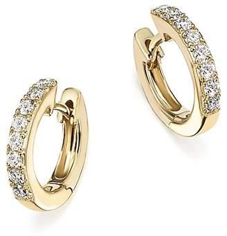 Bloomingdale's Diamond Mini Hoop Earrings in 14K Yellow Gold, .15 ct. t.w. - 100% Exclusive