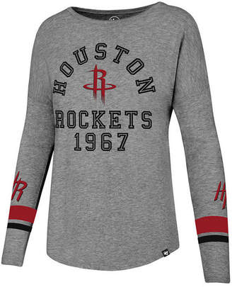 '47 Women's Houston Rockets Encore Long Sleeve T-Shirt