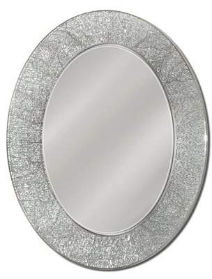 House of Hampton Danette Coral Oval Bathroom/Vanity Mirror