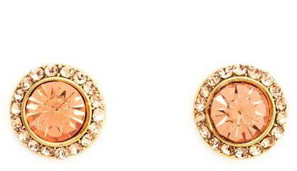 Charlotte Russe Vibrant Rhinestone Stud Earrings